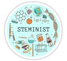 Steminist (Blue) Sticker