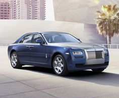 Rolls Royce: we love the sleek design of the new 'ghost family' - maintaining a classic chassis and introducing new sophisticated shades.