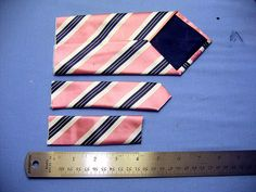 Tutorial: kid tie from men's tie