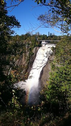 Les chutes de Montmorency - Quebec Canada, Chute Montmorency, Chateau Frontenac, Le Petit Champlain, Road Trip, Country Roads, Nature, Quebec Winter Carnival, Travel