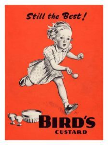 - Birds Custard, Egg And Spoon Race, Vintage Advert Art Print) Vintage Advertising Posters, Vintage Advertisements, Vintage Posters, Vintage Ads Food, Retro Vintage, Bird's Custard, Custard Powder, Egg And Spoon Race, Old Commercials