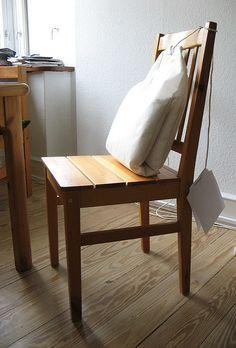 a cup of tea, love?: tea bag pillow by Anne-Mette Clausen, via Flickr