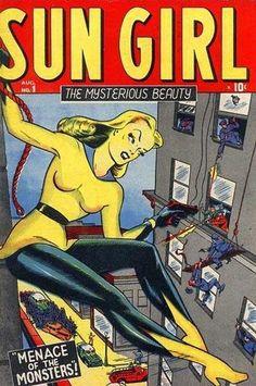 Cover for Sun Girl (1948 series) #1
