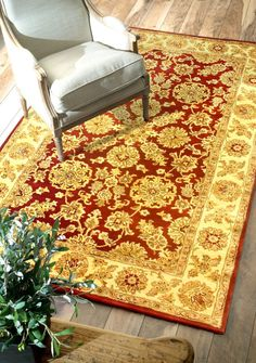 $5 Off when you share! Royal Persian Red Rug   Traditional Rugs #RugsUSA
