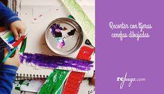 Cortar con tijeras para practicar la psicomotricidad fina Birthday Cake, Desserts, Food, Educational Games, Scissors, Learning, Summer Time, Tailgate Desserts, Deserts