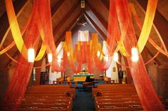 Nave w Streamers | St. Luke's ~ San Lucas Episcopal Church