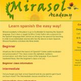 Mirasol Academy Learning Spanish, Fruit, Website, Easy, Food, Learn Spanish, Study Spanish, Essen, Meals