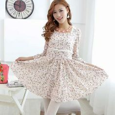 Buy 'JVL � 3/4-Sleeve Floral Lace Dress' with Free International Shipping at YesStyle.com. Browse and shop for thousands of Asian fashion items from China and more!