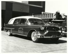 1957 Eureka Landau Ambulance, Skokie Fire Dept.