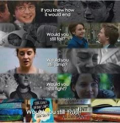 Harry potter, the fault in our stars, divergent, the hungergames ♥ <--- the answer is yes