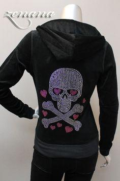 Skull in Love Hoodie & Pant Set: Fuck That Girly Shit