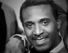 Levi Stubbs, lead singer of The Four Tops. Love this man for all the emotion he conveyed in his singing.
