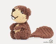 Ravelry: Bever en Eekhoorn / beaver and squirrel pattern by Ami Fan