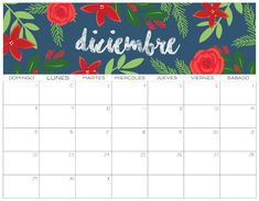 Calendario 2019 GRATIS   Imprimibles Planner Pages, Im Happy, Photo Cards, Rock And Roll, Christmas Time, Free Printables, Homeschool, Bullet Journal, Scrapbook