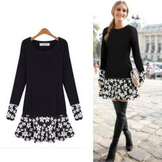 outfits with shorts Autumn-Winter-Women-Long-Sleeve-Loose-Casual-Party-Sweater-Mini-Shirt-Dress-Tops Plus Dresses, Casual Dresses, Dresses With Sleeves, Maxi Dresses, Casual Outfits, Wedding Dresses, Jumpers For Women, Sweaters For Women, Winter Tops For Women