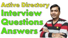 An Introduction to Active Directory Domain Active Directory, Interview Questions And Answers, This Or That Questions, Face, The Face, Faces, Facial