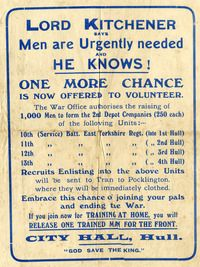 Recruitment poster for the East Yorkshire region East Yorkshire, My Family History, Museum Collection, West Indies, World War I, London, Poster, World War One, London England