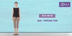 Wear prints and patterns to wherever you want! Shop our #womenswear collection! #tiffani tops #better for a summers day #comfortable top for summer #tops for women's and women Visit Us - zalifashion.com