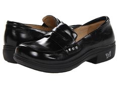 Alegria Taylor Black Waxy - Zappos.com Free Shipping BOTH Ways $130.  good for feet!