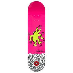 Limited Edition 2012 Keith Haring Skate Deck ($350) ❤ liked on Polyvore featuring curiosities