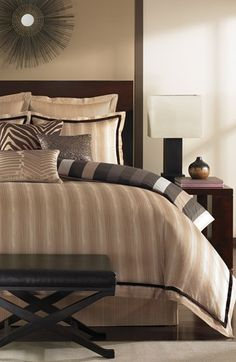 Vince Camuto 'Buenos Aires' Bedding Collection. #home decor #bedroom #bedding
