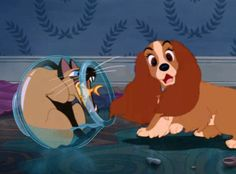 one of my favorite Disney movies.....Lady and the Tramp
