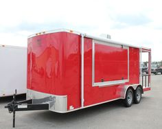 used concession trailer in Restaurant and Catering Concession Trailers and Carts Concession Trailer For Sale, Concession Food, Trailers For Sale, Porch For Trailer, Used Food Trucks, Recreational Vehicles, Catering, Bbq, 21st