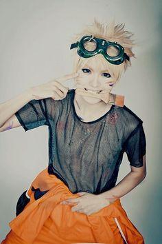 Image via We Heart It https://weheartit.com/entry/144407946 #adorable #anime #Best #cosplay #naruto #ninja #smile #uzumaki