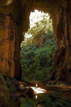 Parque Nacional Cavernas do Peruaçu in Minas Gerais, Brazil (by André Dib).