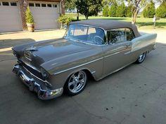 1955 Chevy Bel Air, 1955 Chevrolet, Chevrolet Bel Air, Classic Hot Rod, Classic Cars, My Dream Car, Dream Cars, Chevy Ssr, Car Car