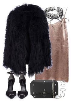 """""""Untitled #3263"""" by theeuropeancloset ❤ liked on Polyvore featuring Alexander Wang, Givenchy, Fallon and Maria Francesca Pepe"""