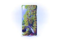 Carcaza Pintura Puente Bosque Relieve Sony Xperia Z1 / Sony Xperia Z2 — HighTeck Store