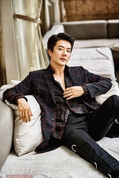 Kwon Sang Woo Covers Chinese Grazia   Couch Kimchi