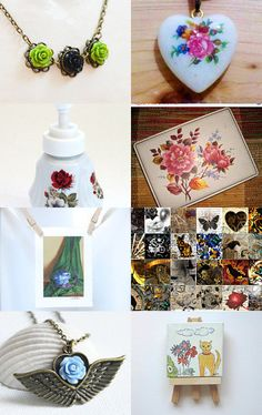 Everythings Coming Up Roses by Linda Gentry Graves on Etsy--Pinned with TreasuryPin.com