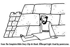 Peter heals a Crippled Beggar from the Pictorial Bible