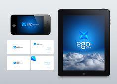 ego travel agency / Branding by Ricardo Machado, via Behance