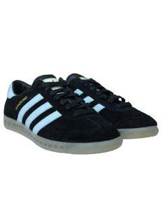 b6b8c265ebf5b6 adidas Hamburg in Black Blue - Northern Threads Adidas Originals