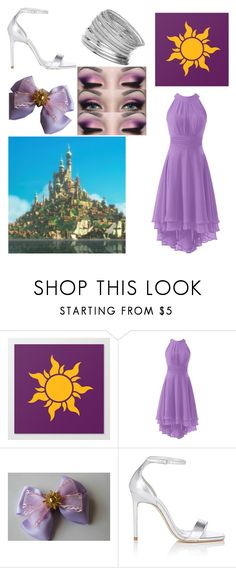 """""""Corona - Rapunzel"""" by magicalanimecat ❤ liked on Polyvore featuring Yves Saint Laurent and Miss Selfridge"""