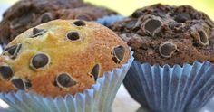 The Sweet Bakery   Cupcakes Clásicos de vainilla y chocolate con chips