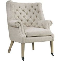 Modway Chart Lounge Chair in Sand
