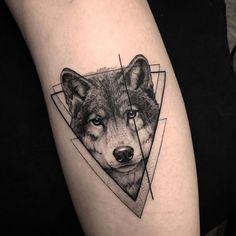 Wolf Tattoos That Take Your Breath Away [Latest 2019 Trends] wolf tattoo - Tattoos And Body Art Trendy Tattoos, Cute Tattoos, Body Art Tattoos, Small Tattoos, Tattoos For Guys, Wolf Tattoo Sleeve, Arm Tattoo, Sleeve Tattoos, Tattoo Ink