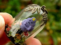 Adventure Time LSP Glass Dome Pendant by ThePurpleArtichoke7