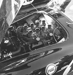 Phil Hill's Ford Shelby Cobra at Sebring 1963