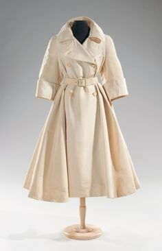 Norman Norell coats ca. 1955 via The Costume Institute of the Metropolitan Museum of Art by Ookamishoujo