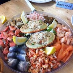 Seafood platter to make your mouth water