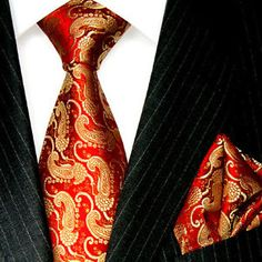red and gold ties - Google Search