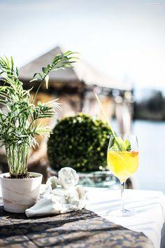 Bericht über das Restaurant Seestuben am St. Leonharder See. Lemonchilli Spritz