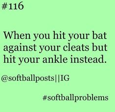 pretty much sums up how I feel every time I have to wait for the next book of whatever series i'm reading. Softball Players, Girls Softball, Softball Bats, Fastpitch Softball, Softball Stuff, Softball Catcher, Softball Things, Volleyball Drills, Coaching Volleyball