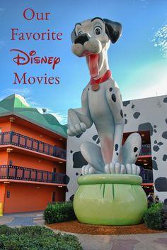 Our Favorite Disney Movies. #disney #movies #family