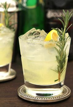 The Ophelia Cocktail – Gin, Lemon and Rosemary